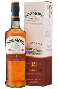 Bowmore Darkest 15YO 43% 0,7L