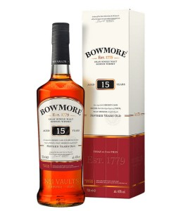 Bowmore 15YO Sherry Cask Finish 43% 0,7L