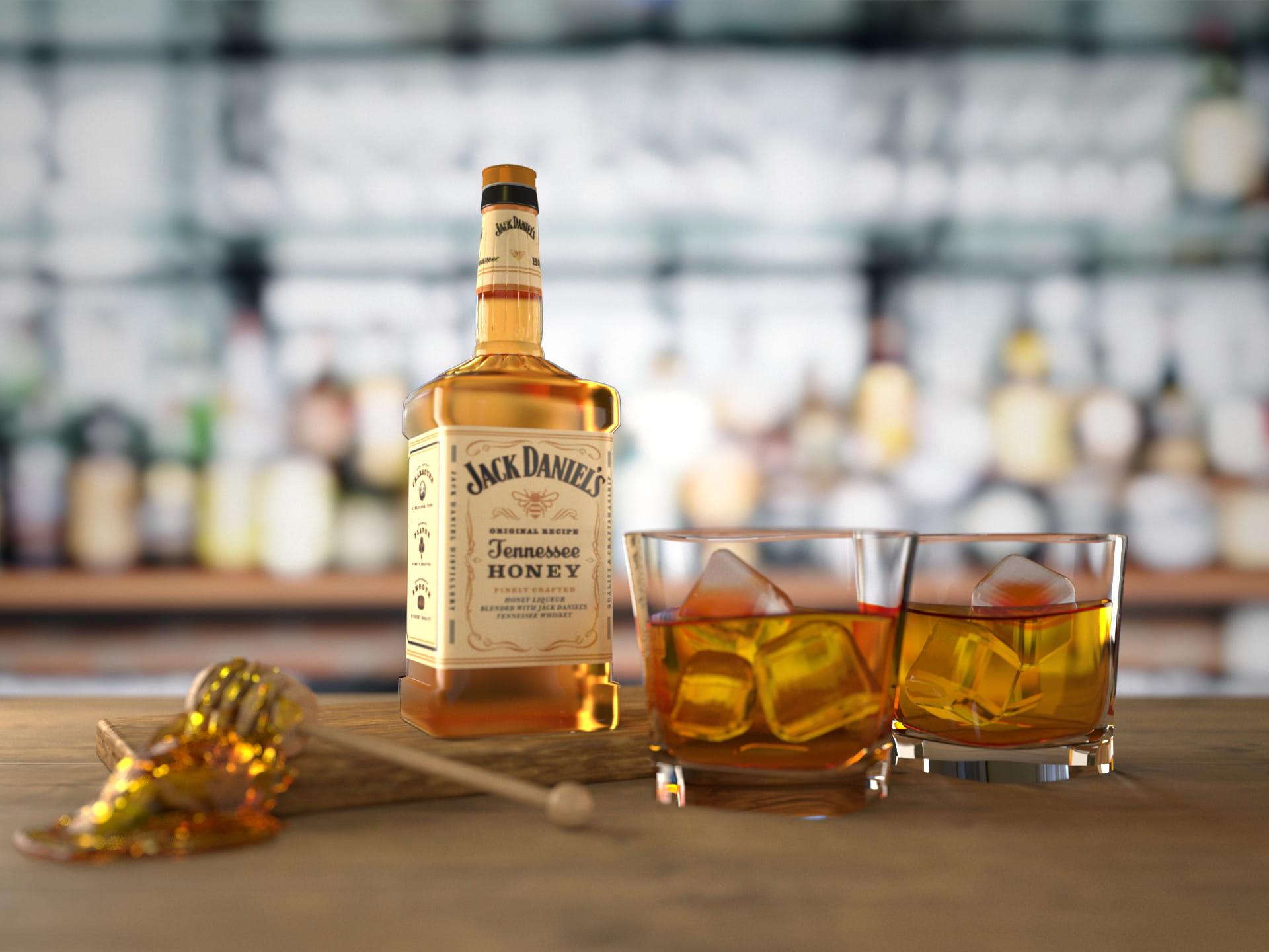 Jack Daniels Honey 0 7l Z Personalizowana Etykieta Domalkoholi Pl